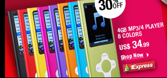 4GB MP3/4 Player