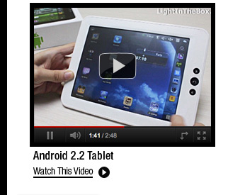 Android 2.2 Tablet