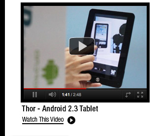 Thor - Android 2.3 Tablet