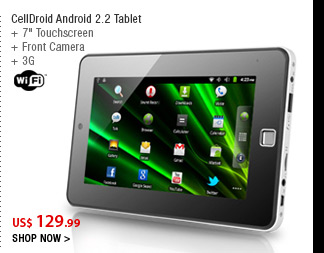 CellDroid Android 2.2 Tablet