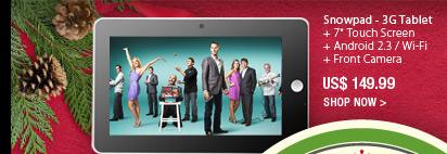 Snowpad - 3G Tablet