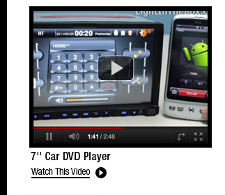 7'' Car DVD Player