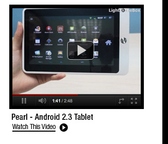 Pearl - Android 2.3 Tablet
