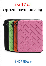 Squared Pattern iPad 2 Bag