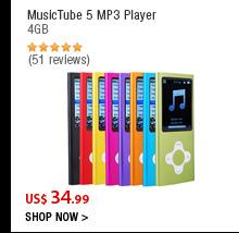 MusicTube 5 MP3 Player