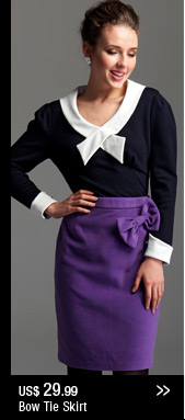 Bow Tie Skirt