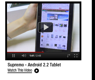 Supremo - Android 2.2 Tablet