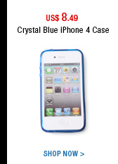 Crystal Blue iPhone 4 Case
