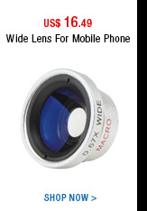 Wide Lens For Mobile Phone