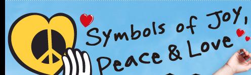 Symbols Of Joy, Peace & Love