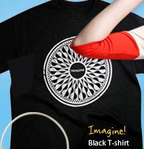 Imagine! Black T-shirt