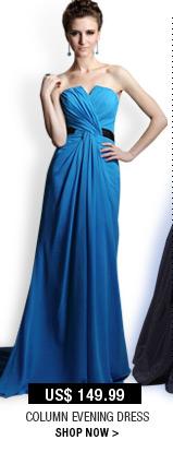 Column Evening Dress