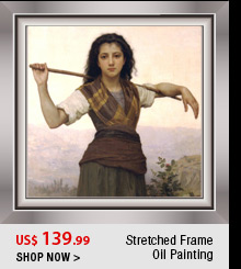 Stretched Frame Oil Painting