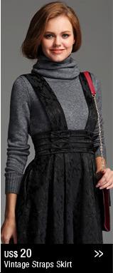 Vintage Straps Skirt