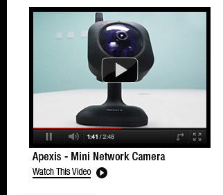 Apexis - Mini Network Camera