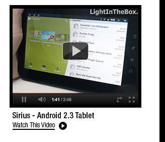 Sirius - Android 2.3 Tablet