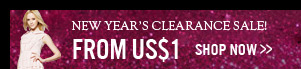 New Year's Clearance Sale!