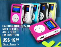 Fashionable Design MP3 Player