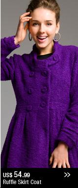 Ruffle Skirt Coat