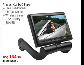 Armrest Car DVD Player