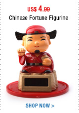 Chinese Fortune Figurine