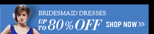 Bridesmaid Dresses Up To 80% OFF