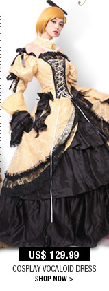 Cosplay Vocaloid Dress