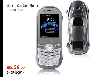 Sports Car Cell Phone