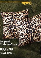Leopard Cushion Cover