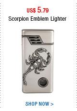 Scorpion Emblem Lighter