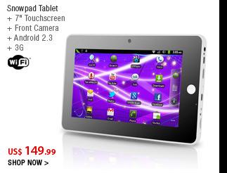 Snowpad Tablet