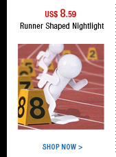 Runner Shaped Nightlight