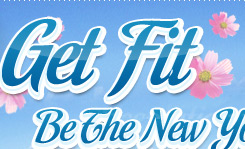Get FIT & Be The New You!