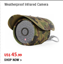 Weatherproof Infrared Camera