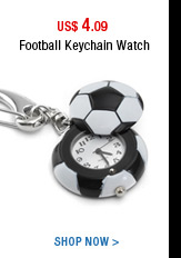 Football Keychain Watch
