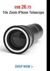 10x Zoom iPhone Telescope