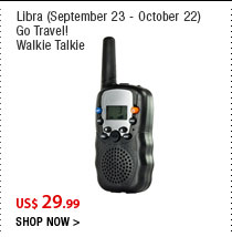 Libra (September 23 - October 22)