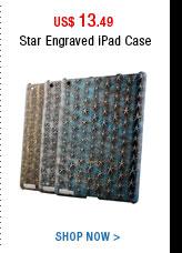 Star Engraved iPad Case