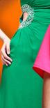 One Shoulder Evening Dress