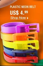Plastic Neon Belt