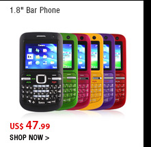 """1.8"""" Bar Phone"""