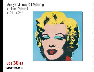 Marilyn Monroe Oil Painting
