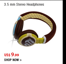 3.5 mm Stereo Headphones