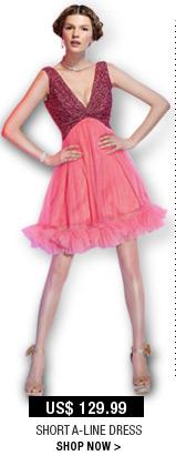 Short A-Line Dress