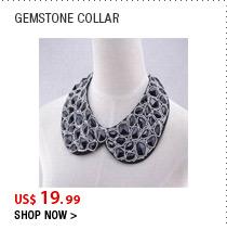 Gemstone Collar