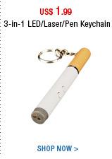 3-in-1 LED/Laser/Pen Keychain