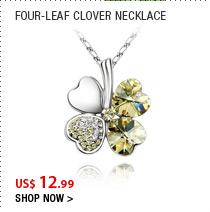Four-Leaf Clover Necklace