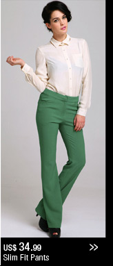 Slim Fit Pants