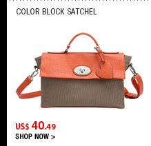 Color Block Satchel