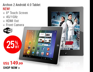 Archon 2 Android 4.0 Tablet